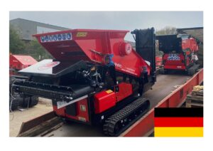RED RHINO MACHINES ON THEIR WAY TO OUR DEALER IN STEINFURT, GERMANY