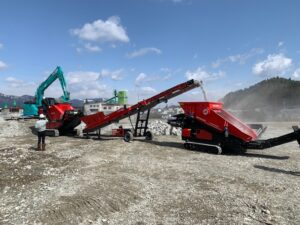 RED RHINO MACHINES WORKING IN JAPAN